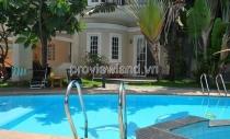 Biệt thự hồ bơi sân vườn riêng tại Thảo Điền cần bán có 352m2 diện tích 1 trệt 2 lầu