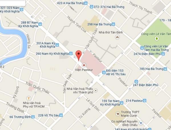 Bán nhà phố mặt tiền đường Trần Quốc Toản phường 8 Quận 3