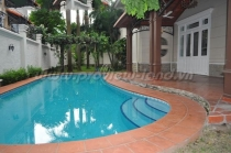 Kim Son Villa for rent with an area of 750m2, big pool, garden