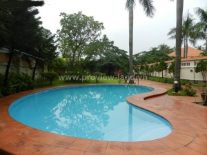 Beautiful villa for rent in Thao Dien Compound area