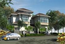 Biệt thự bán Phú Mỹ Hưng khu Cảnh đồi 340m2 có sân vườn