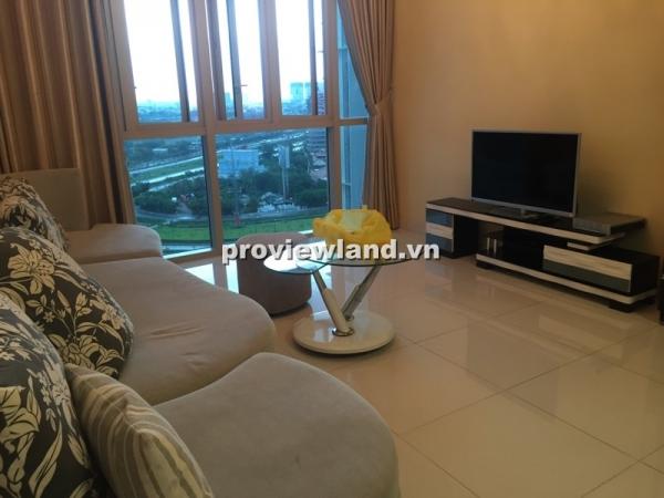 Cho thuê căn hộ The Vista 2 phòng ngủ lầu thấp đầy đủ nội thất view hồ bơi đẹp mắt