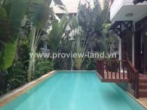 Cho thuê villa Thảo Điền Quận 2-khu compound-đường Nguyễn Văn Hưởng