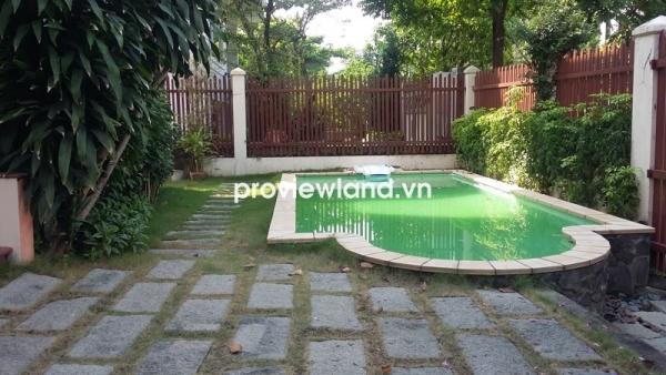 Biệt thự Thảo Điền Compound cần cho thuê 200m2 có gara và sân vườn