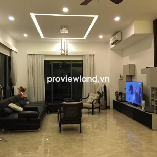 Villa Riviera Compound for rent 300 sqm 2 floors modern and unique design with full furniture