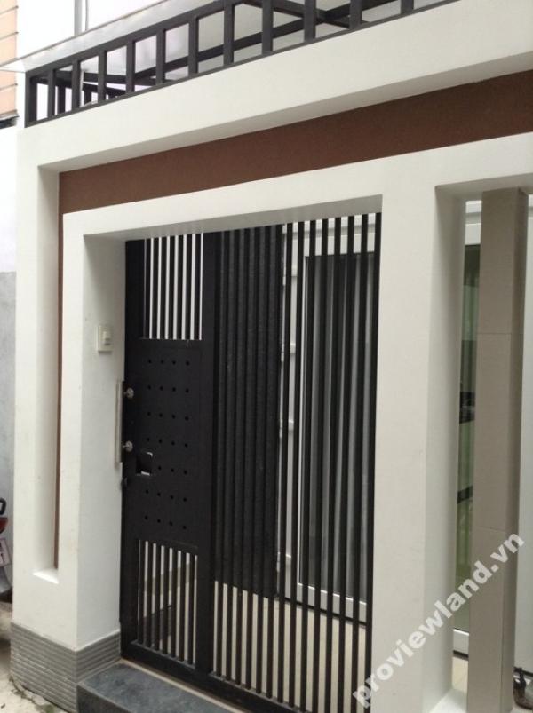 Nhà phố cho thuê tại Phú Nhuận mới xây dựng