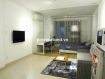 Serviced apartment for rent on Tran Hung Dao Street 55sqm 1BR fully furnished