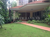 Villa for rent in Thao Dien Ward, 380m2, large garden