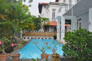 Lease or sale house in Thảo Điền 400 sqm, swimming pool