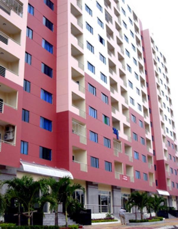 Bán căn hộ An cư lầu 13 nội thất đầy đủ