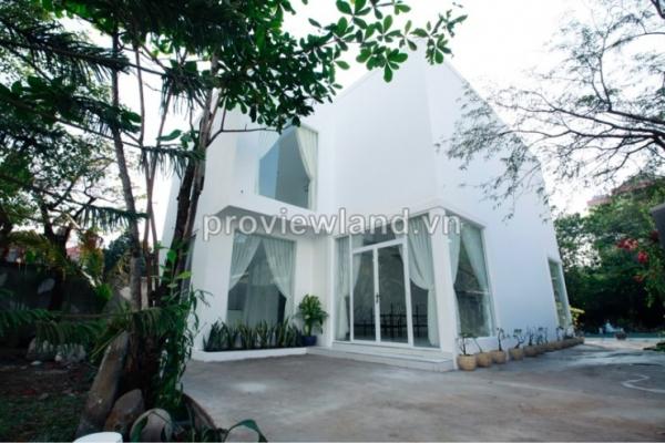 Cho thuê biệt thự Mini Compound Trần Não 110m2 - 2 tằng - 3 phòng ngủ đầy đủ nội thất - hồ bơi sân vườn đẹp