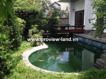 Cho thuê biệt thự khu Compound Thảo Điền Quận 2 ven sông Sài Gòn