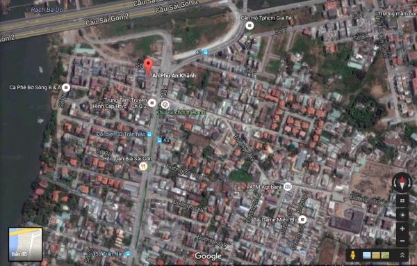 Bán đất mặt tiền An Phú, An Khánh 400m2