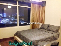 Apartment for rent in Saigon Pearl Ruby Tower 100sqm high floor 3BRs with villas view