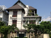 Saigon river Villas for rent in district 2 for rent cheap price