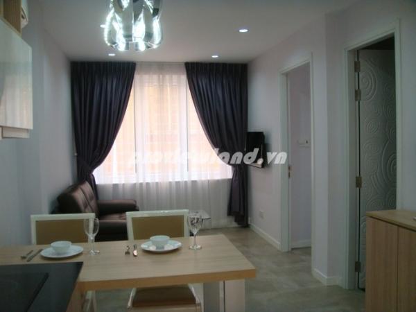 Cho thuê căn hộ dịch vụ Quận 3 phòng đẹp tràn ngập ánh nắng