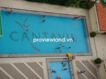 Cho thuê căn hộ cao cấp 97m2 2PN Cantavil An Phú phòng khách có ban công view thoáng
