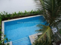 villa for sale in Thao Dien Ward with pool and garden 12billion VND