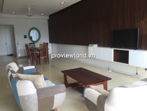 Saigon Pearl apartment for rent low floor 140sqm 3BRs fully equipped with comfortable furniture