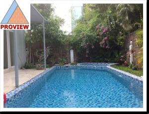 Cho thuê biệt thự Thảo Điền 2 có hồ bơi 400m2