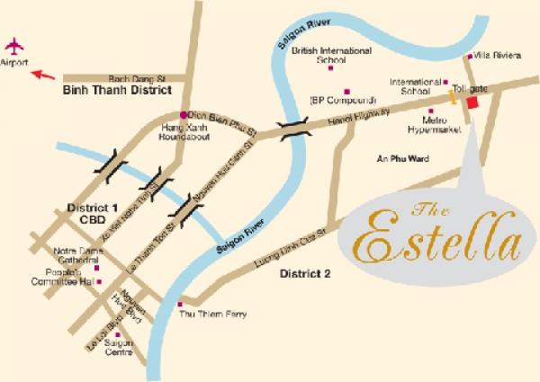 Cho thuê căn hộ Estella Hot nhất thị trường