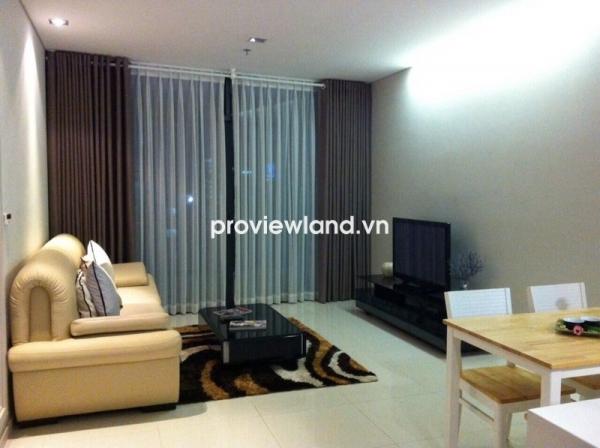 Cho thuê căn hộ DT 69m2 1 PN City Garden tháp B thiết kế sang trọng