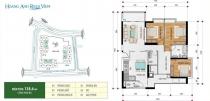 Bán căn hộ tại Hoàng Anh Riverview 138m2