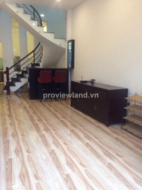 Cho thuê nhà phố khu Thảo Điền quận 2 DT 5x17m 1 trệt 1 lầu đầy đủ nội thất