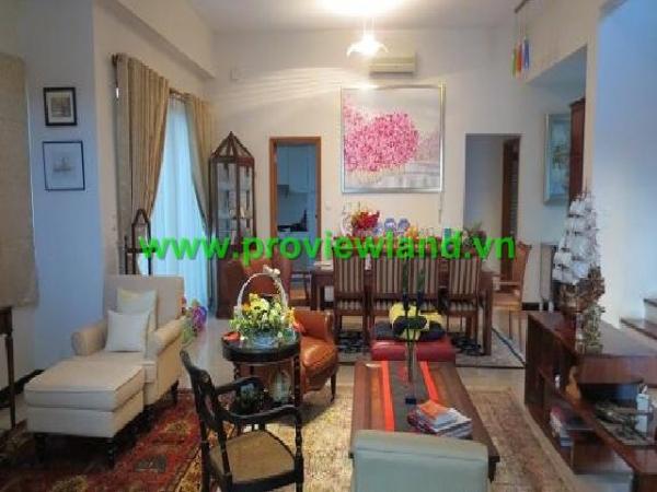 Villa Riviera quận 2 cho thuê  gồm 5PN