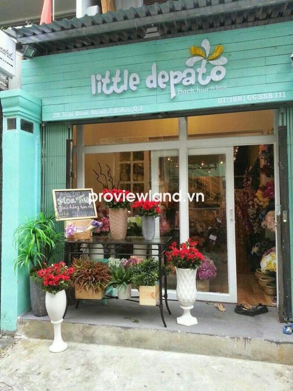 Bán nhà DT 57m2 mặt tiền đường Trần Doãn Khanh quận 1 tiện mở shop kinh doanh