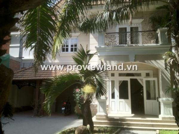 Cho thuê biệt thự Thảo Điền khu Compound gồm  5PN