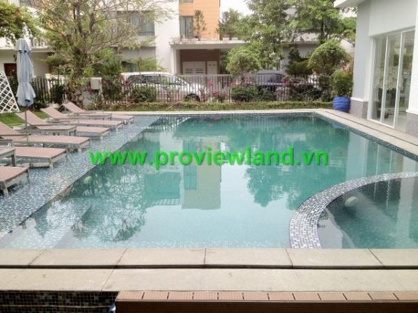 Cho thuê Villa Riviera Quận 2 diện tích 900m2 có hồ bơi riêng