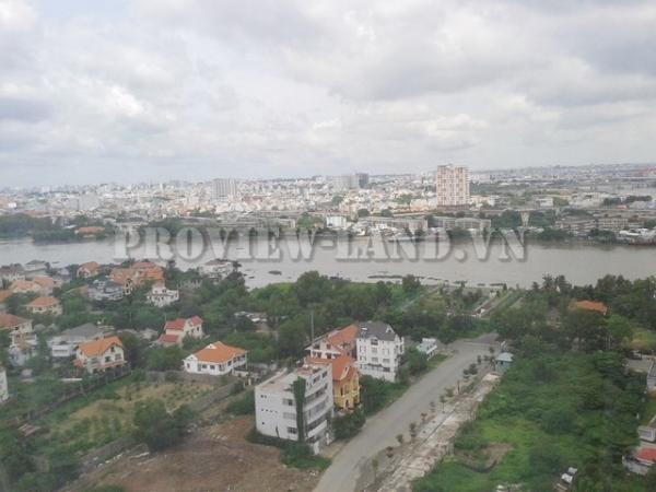 Bán căn hộ Tropic Garden quận 2 view sông 180m2