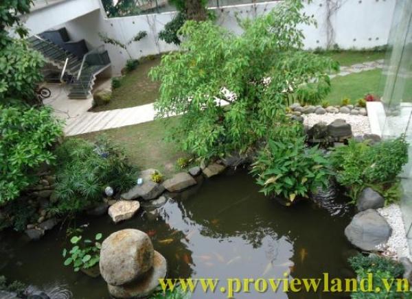 Villa for rent Thao Dien Villas in D2 - Smart Villa for rent
