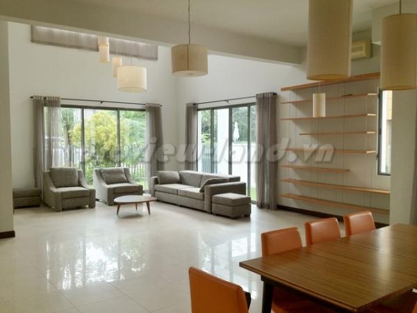 Cho thuê villa Riviera An Phú 4 PN - 5 WC nhà đẹp giá hot