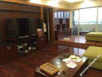 Hung Vuong Plaza apartment for sale high floor 132sqm 2BRs fully furnished has balcony