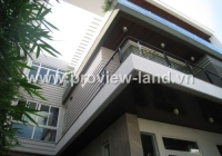 Most beautiful villa for rent in District 3 near Le Van Tam Park, Villa for rent in District 3