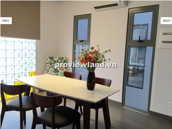 Serviced apartment for rent in District 2 on No 43 Street full amenities