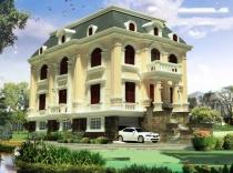 villa for sale near Ho Con Rua lake, district 3, French style, 18x20m