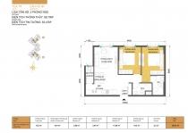 Cần bán căn hộ Masteri Thảo Điền Quận 2 59m2 2 phòng ngủ view đường cao tốc