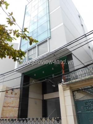 Bán tòa nhà văn phòng Quận 3 cách Hồ Xuân Hương và cách CMT8 khoảng 300m, 8,2x18