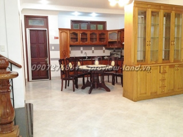 Lan Anh Villa in District 2 for rent ho chi minh city