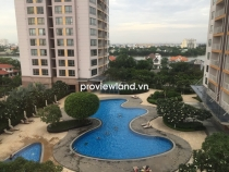 XI Riverivew apartment for rent low floor 186sqm 3BRs basic furnished with riverview