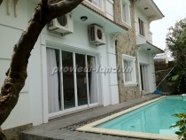 Villa for rent in Tran Nao street, compound area, 500m2, big pool