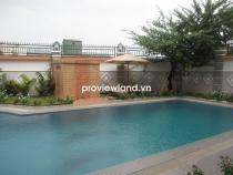 Cho thuê biệt thự đầy đủ nội thất 5PN có hồ bơi khu Kim Sơn Thảo Điền giá tốt