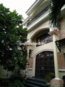 Villa for rent in Thao Dien near International School 150sqm 2 floors 4BRs part furniture