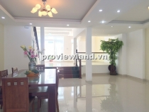 Villa for rent in District 2 7x20m 3 floors big yard basic interior