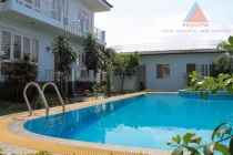 Villa for rent in Thao Dien Ward, area of 700m2, nice garden