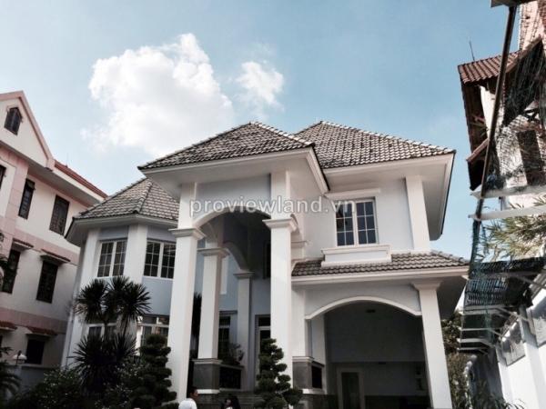 Biệt thự Thảo Điền cần bán đường Nguyễn Văn Hưởng 815m2 - 2 lầu - 4 PN