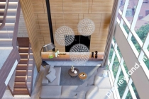 Cho thuê Duplex ở Petroland Tower 280m2 2 tầng và sân thượng
